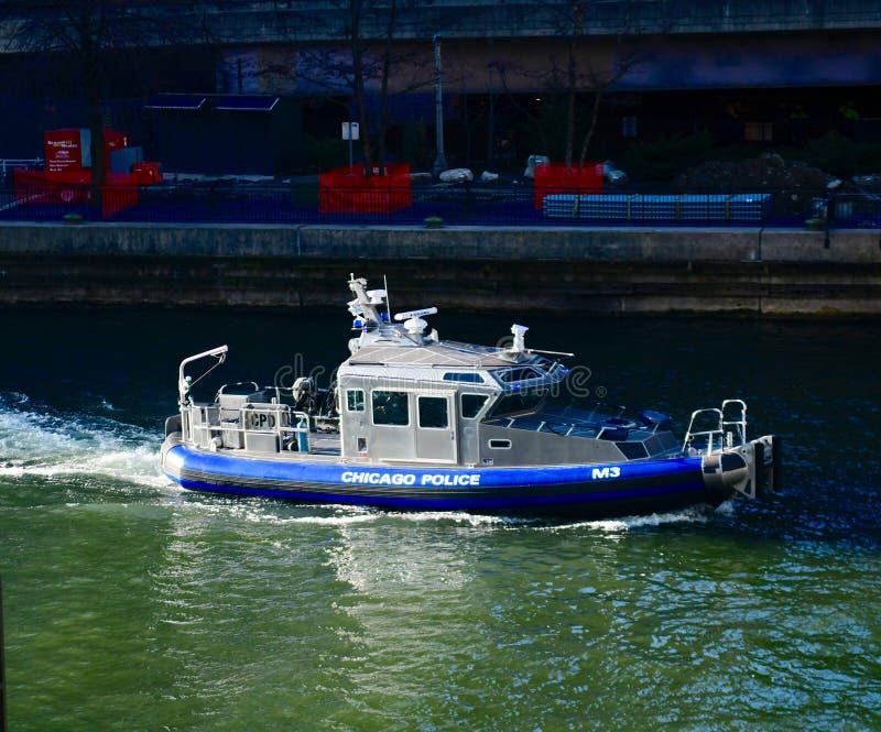 Police M3 de Chicago photographie stock
