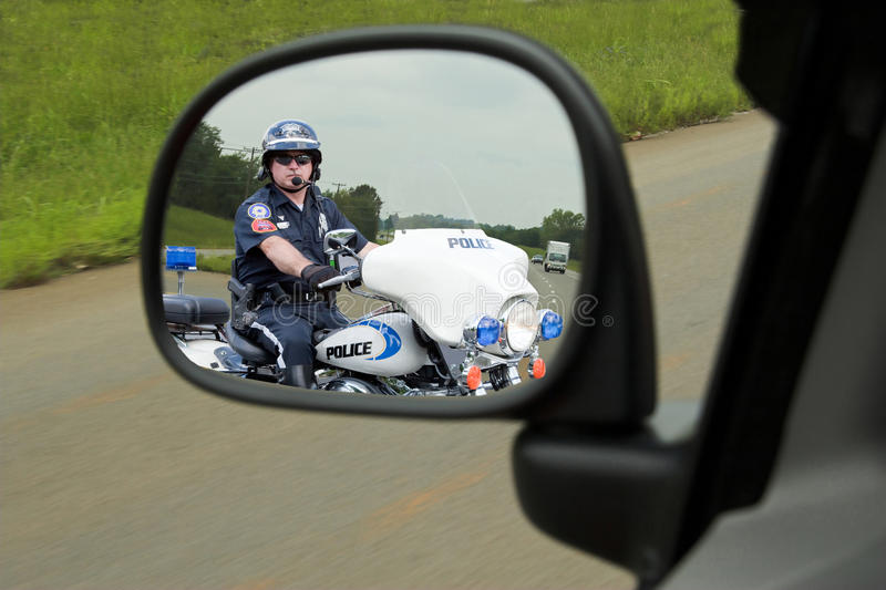 Download Police Motorcycle Cop stock image. Image of criminals - 20123337
