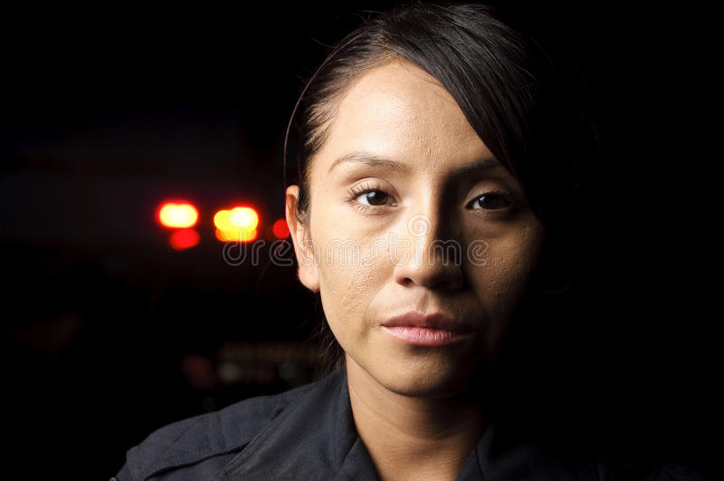 Download Police officer stock image. Image of woman, looking, hispanic - 20913753