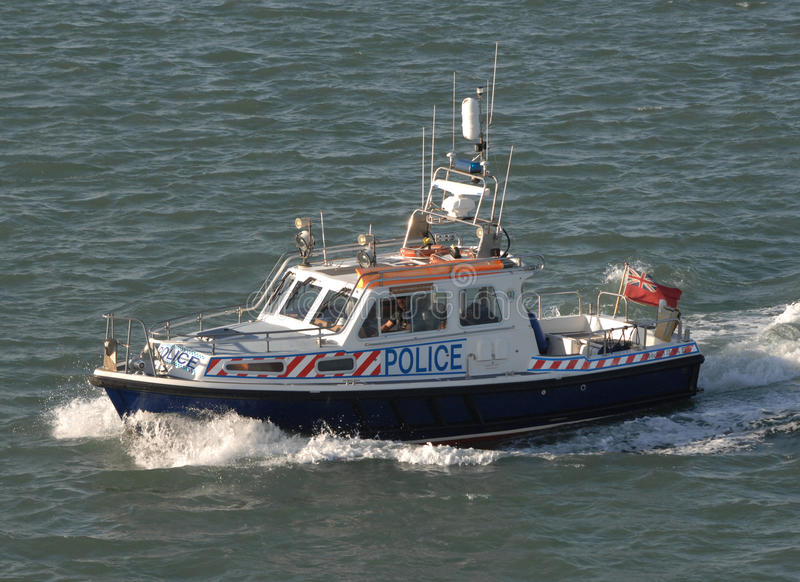 Download Police patrol boat editorial photo. Image of constabulary - 22357861