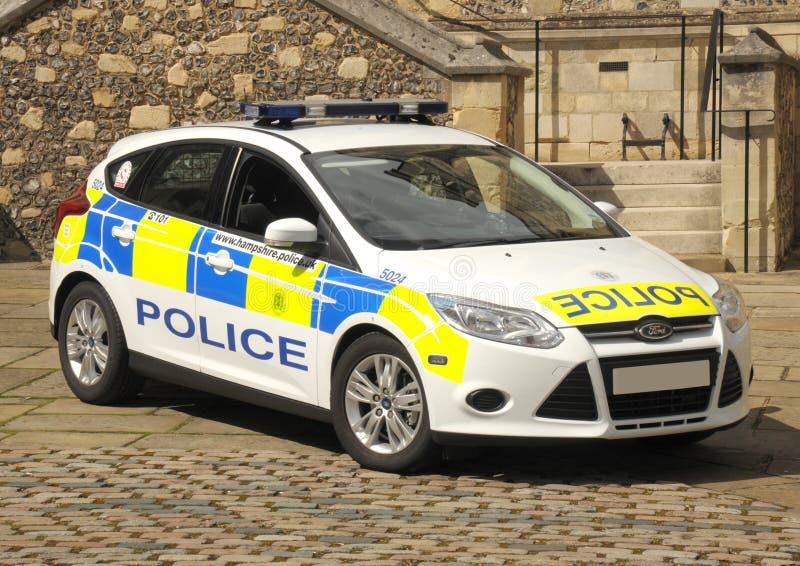 Police patrol car royalty free stock image