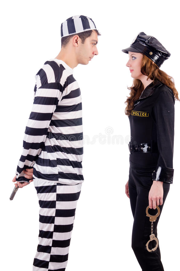 Police And Prison Inmate Stock Photos