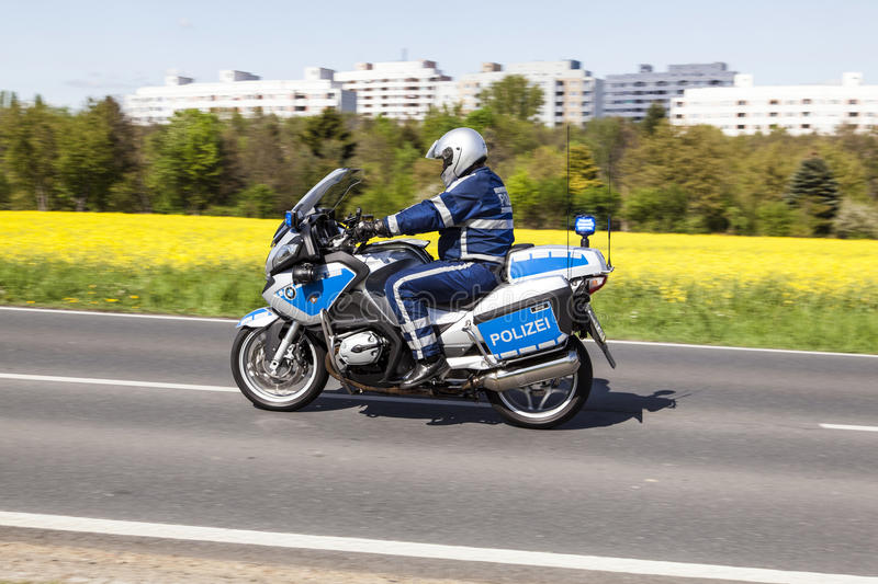 Download The Police Protects The 51st Bike Race Editorial Stock Image - Image: 36787749