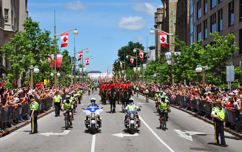 Download Police And RCMP In Canada Day Editorial Stock Photo - Image: 20139868