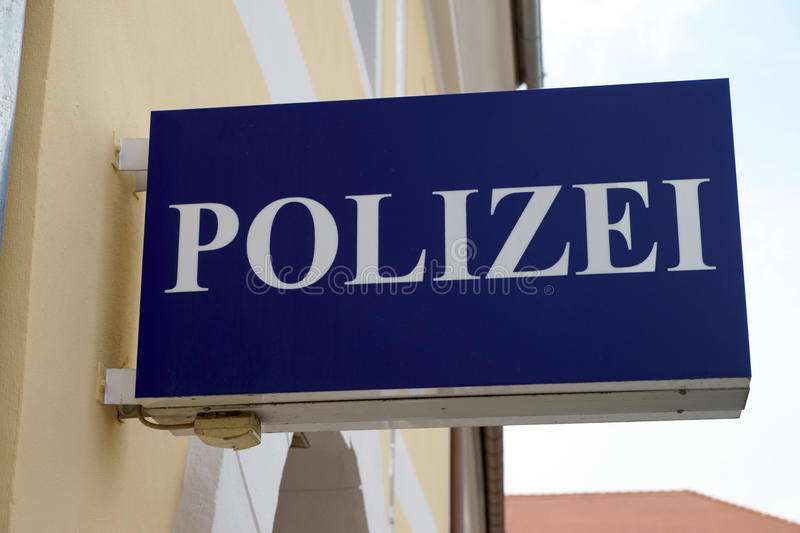 Download Police sign stock photo. Image of department, office - 39500340