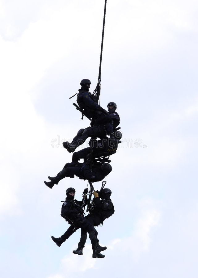 Police Special Forces Stock Photo