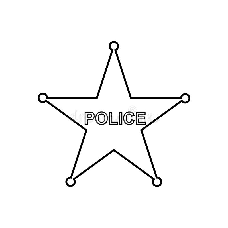 Police star outline icon linear vector illustration stock vector download police star outline icon linear vector illustration stock vector illustration of officer sciox Gallery