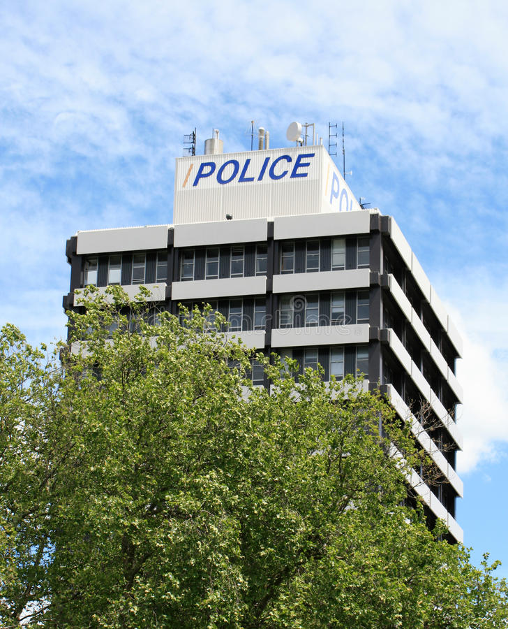 Police Station royalty free stock photography
