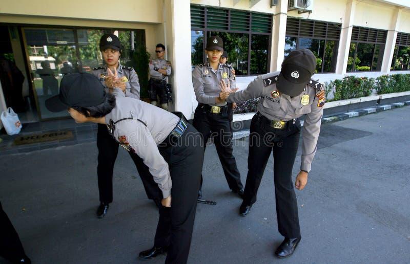 Police women stock photo