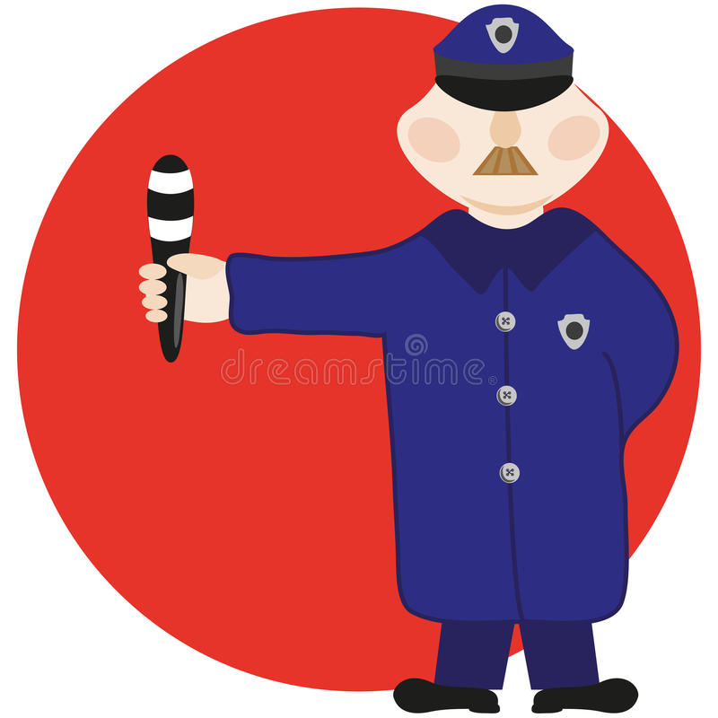 Policeman Royalty Free Stock Photo