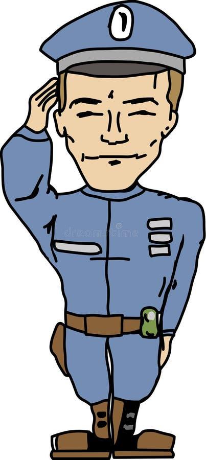 Download Policeman stock vector. Image of police, security, uniform - 7382493