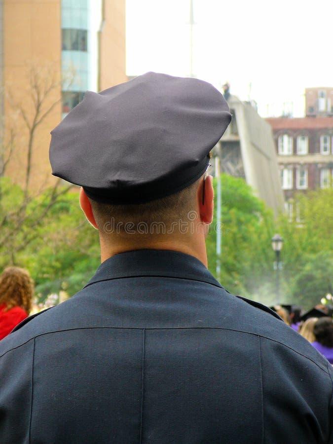 Policeman in Uniform royalty free stock image