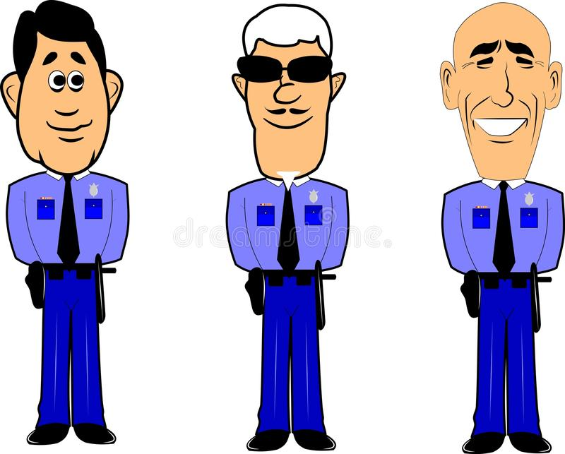 Download Policemen stock vector. Illustration of profession, experienced - 28439316
