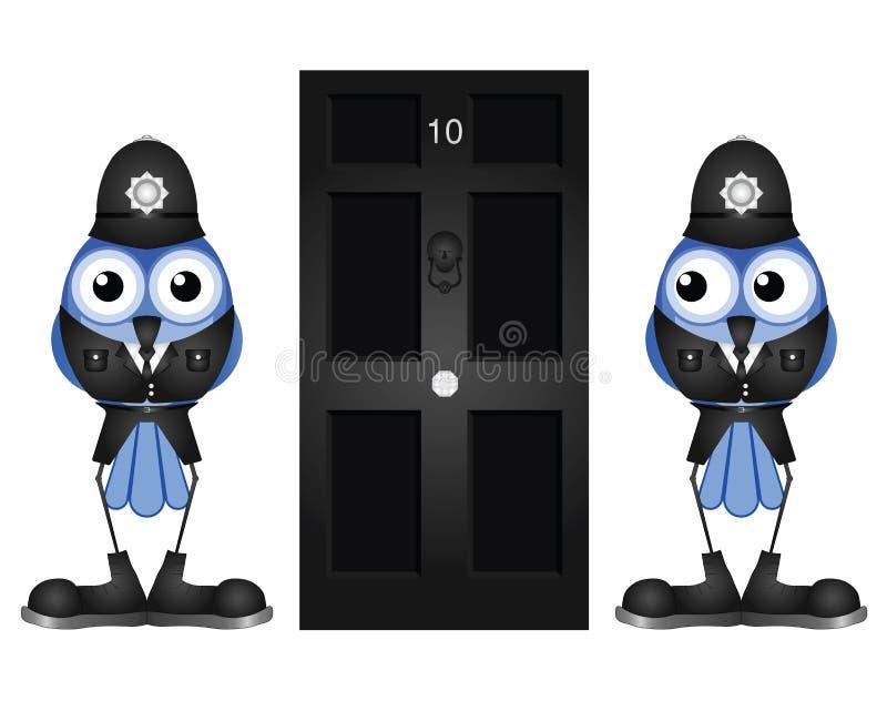 Policemen Guarding Royalty Free Stock Image