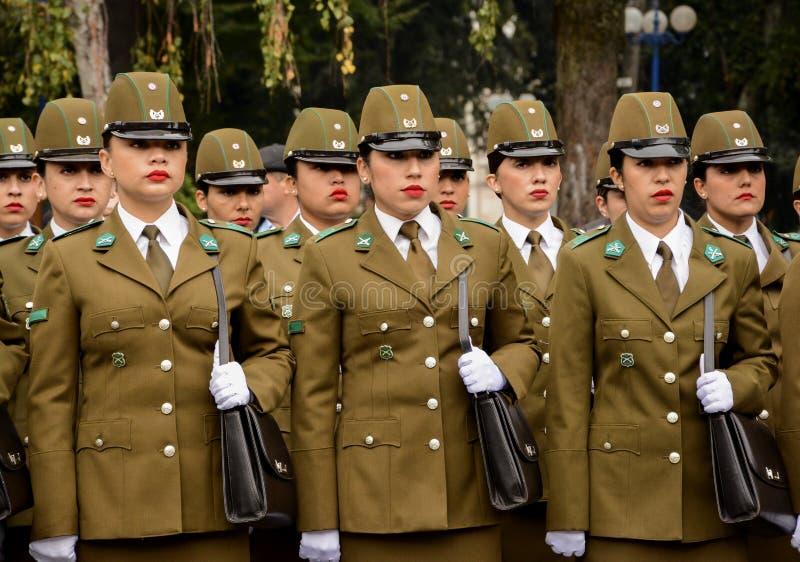 policewoman fotografia stock libera da diritti