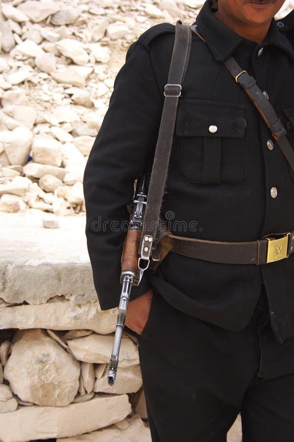 Policier égyptien photographie stock libre de droits