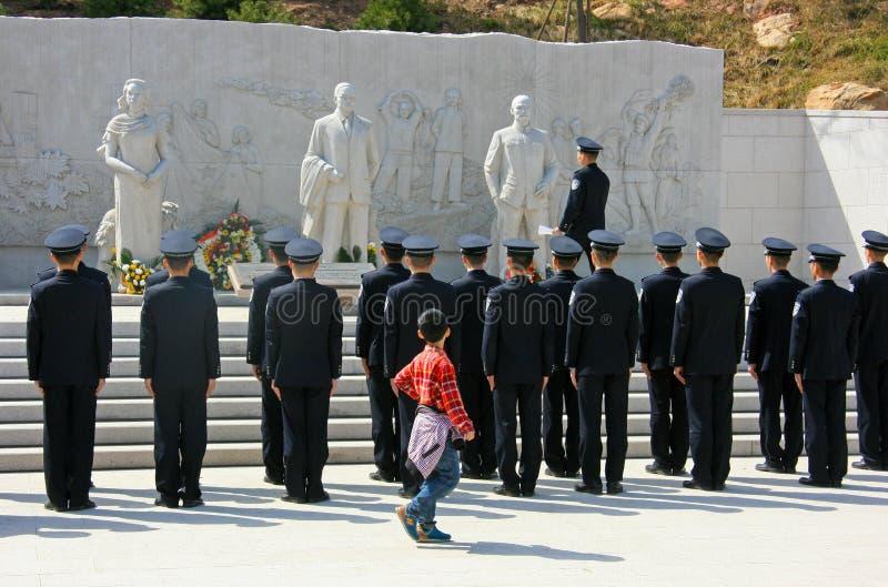 Policier chinois images libres de droits
