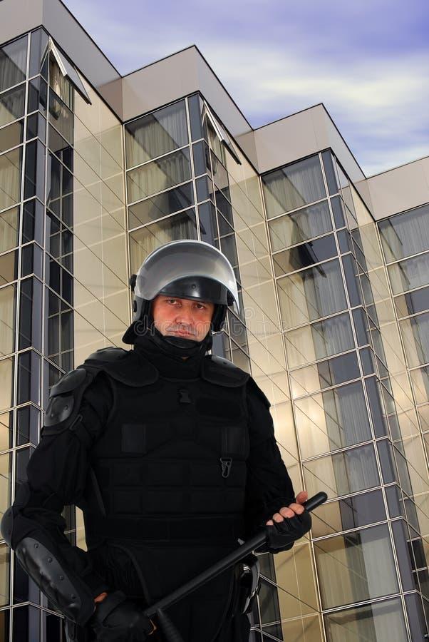 Policier d'émeute photographie stock