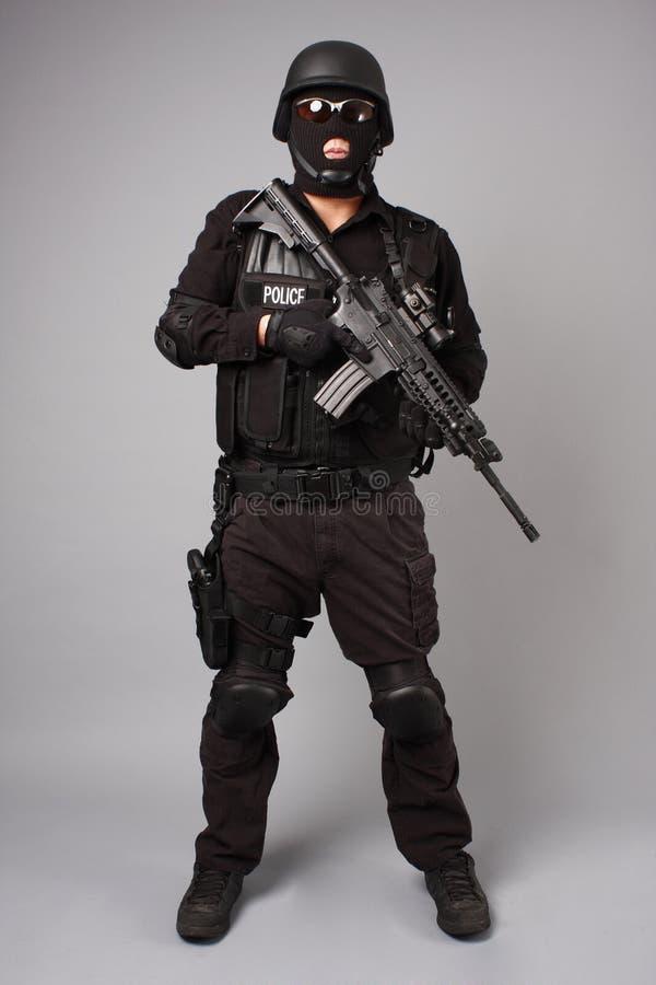 Policier de SWAT photos libres de droits