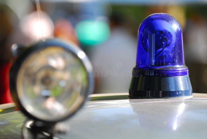 policja stara światła zdjęcie royalty free