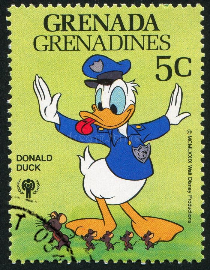 Policjant Donald zdjęcia royalty free
