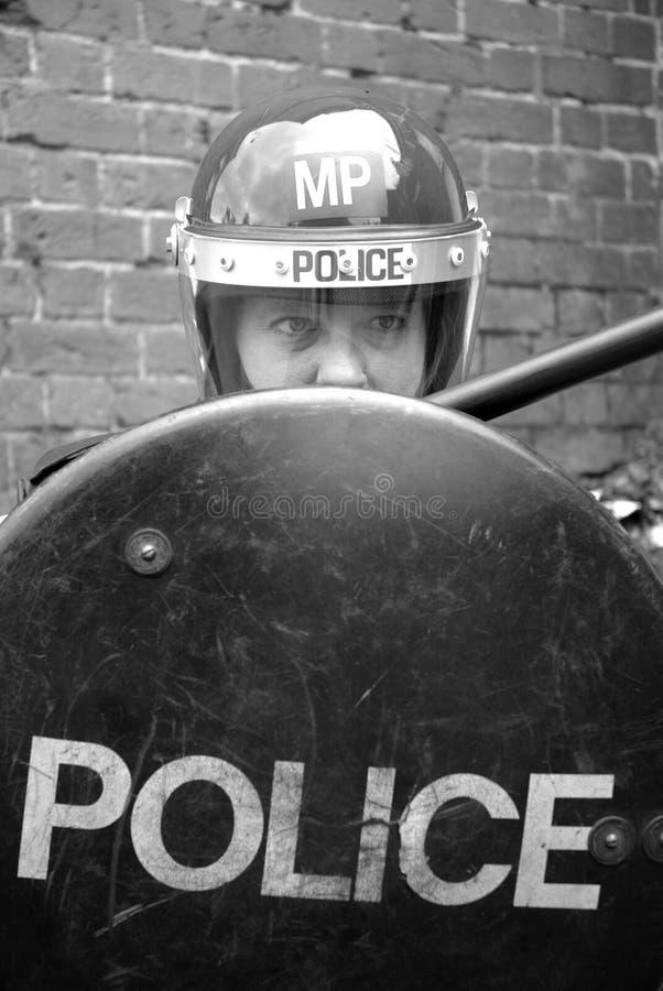 policjant riot obraz stock
