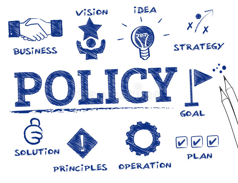 Policy concept vector illustration