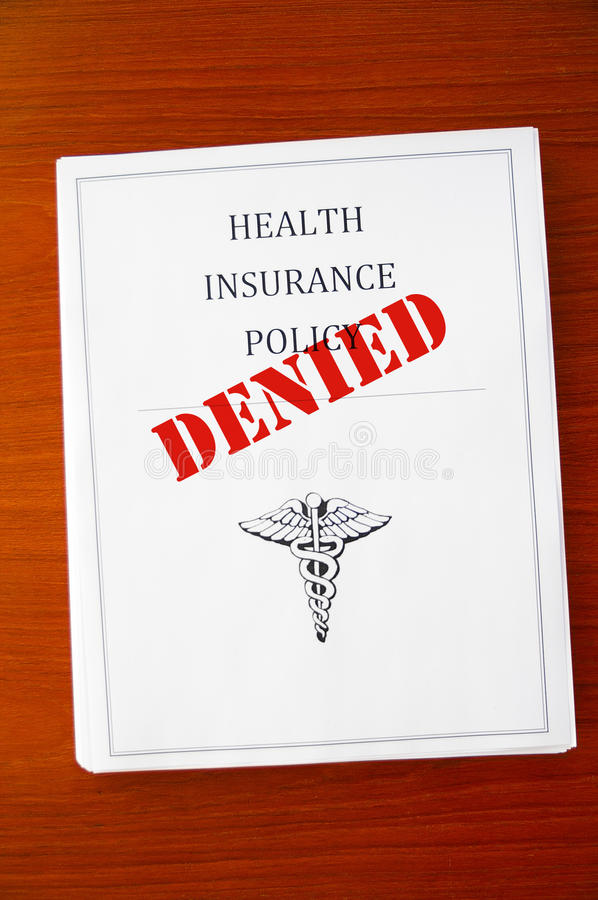 Download Policy denied stock image. Image of deny, cost, coverage - 18525239