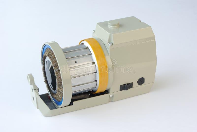 Poliermaschine stockbild