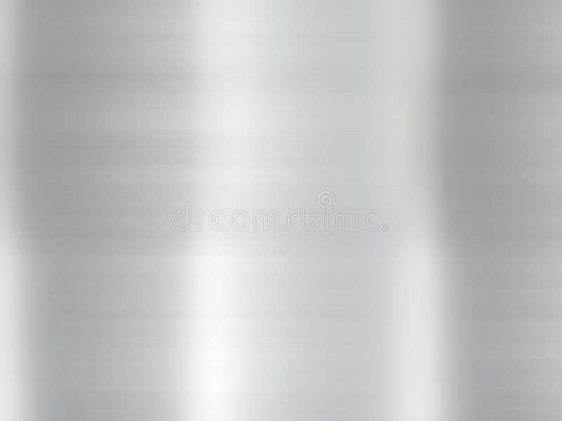 Poliermetallhintergrund stock abbildung