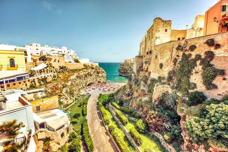 Polignano eine Stute, Apulien, Italien lizenzfreie stockfotografie