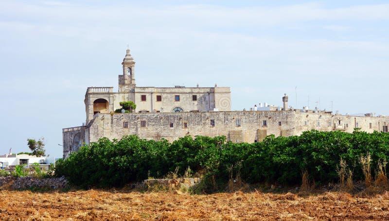 Polignano klacz, St Vito zdjęcia royalty free