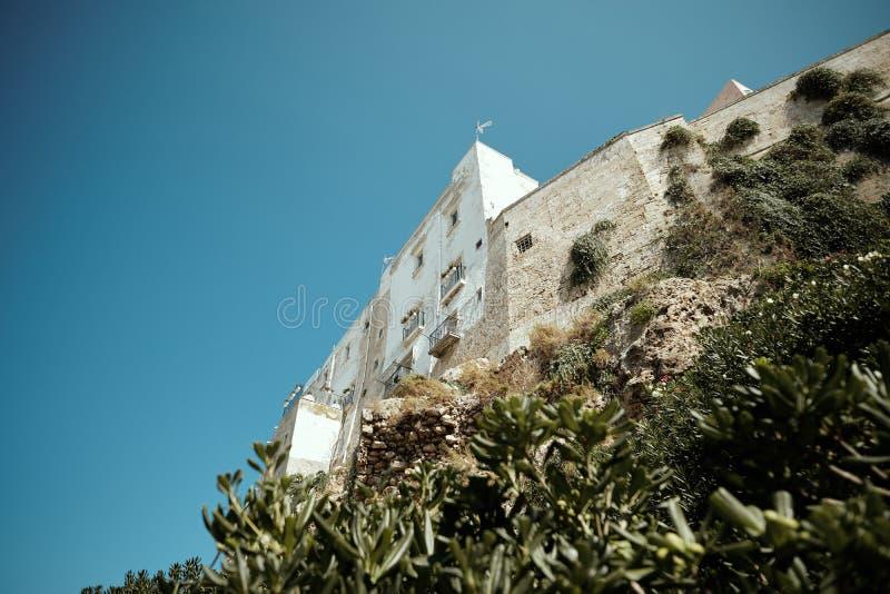 Polignano a Mare, stad Italië, zee royalty-vrije stock fotografie