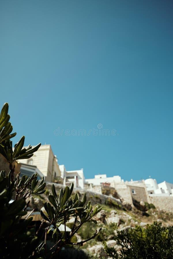 Polignano a Mare, stad Italië, zee royalty-vrije stock foto