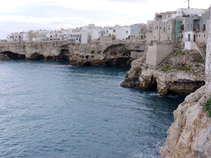 Polignano in Puglia in Italia fotografie stock libere da diritti