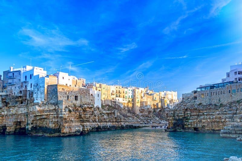 Polignano una cavalla, Puglia, Italia immagine stock libera da diritti