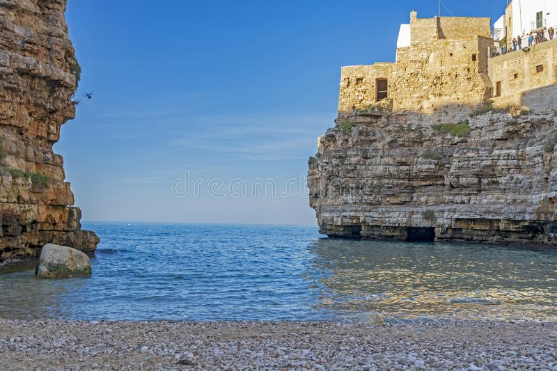 Polignano une jument, Puglia, Italie photo libre de droits