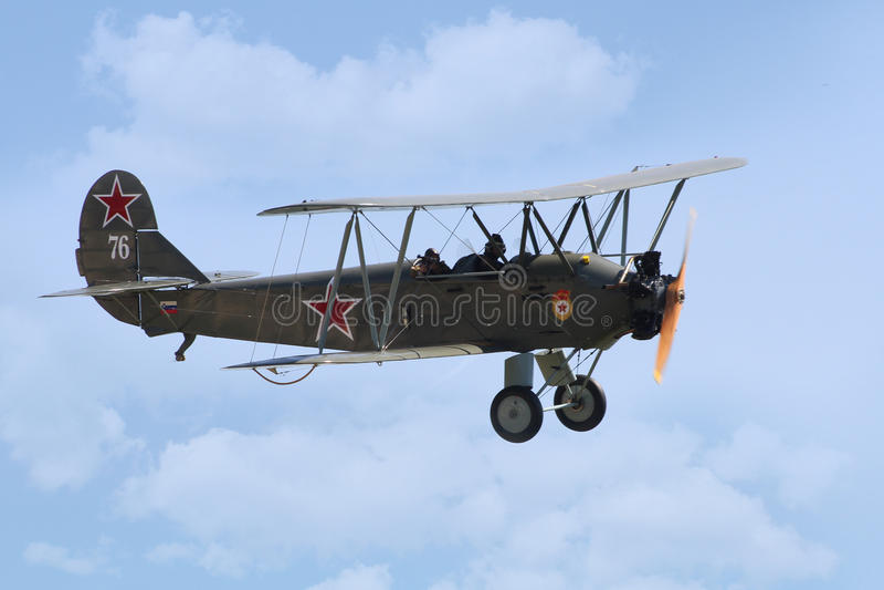 Polikarpov Po-2 stock images