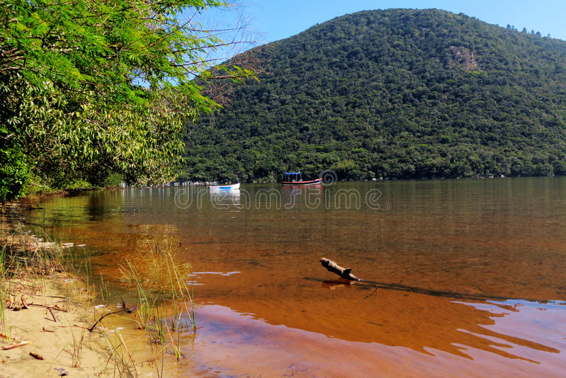 Polis de ³ de fin de support Florianà de Lagoa DA Conceição - Santa Catarina - Brésil photo libre de droits