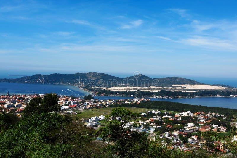 Polis del ³ del em Florianà de Lagoa DA Conceição - Santa Catarina - el Brasil imagenes de archivo