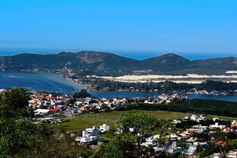 Polis del ³ del em Florianà de Lagoa DA Conceição - Santa Catarina - el Brasil foto de archivo