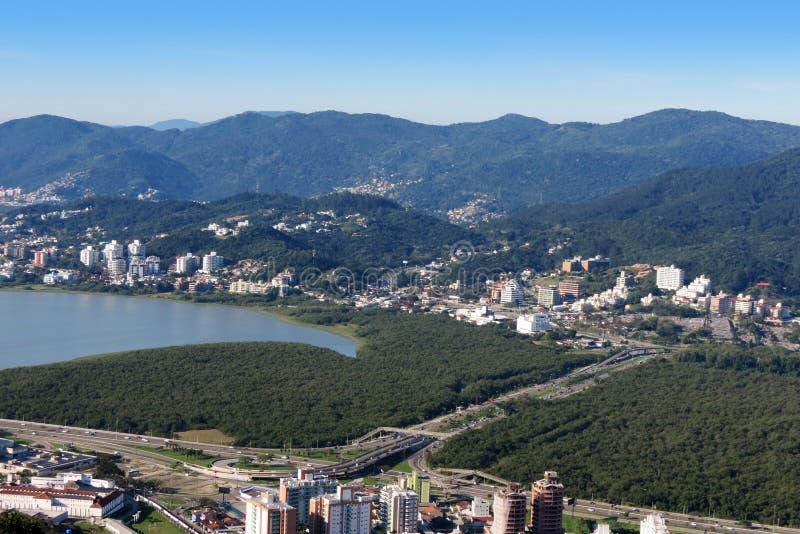 Polis do ³ de Florianà - Santa Catarina - Brasil foto de stock royalty free
