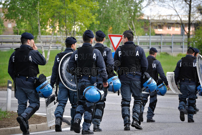 polisar fotografering för bildbyråer