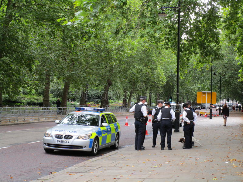 polisar royaltyfria bilder