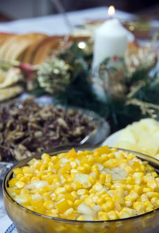 Download Polish Christmas table stock photo. Image of glass, onion - 3920876