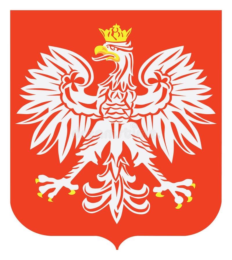 Polish eagle emblem. vector illustration