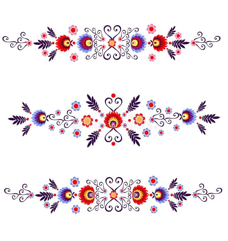 Polish folk - inspiration royalty free illustration