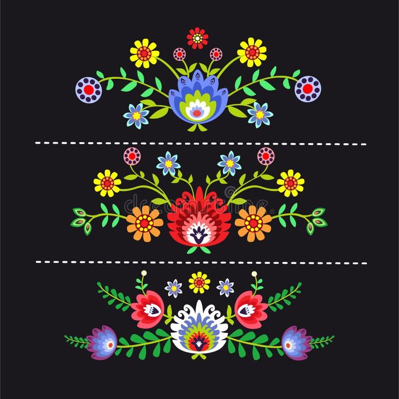 Polish folk royalty free illustration