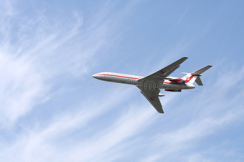 Polish government plane royalty free stock images
