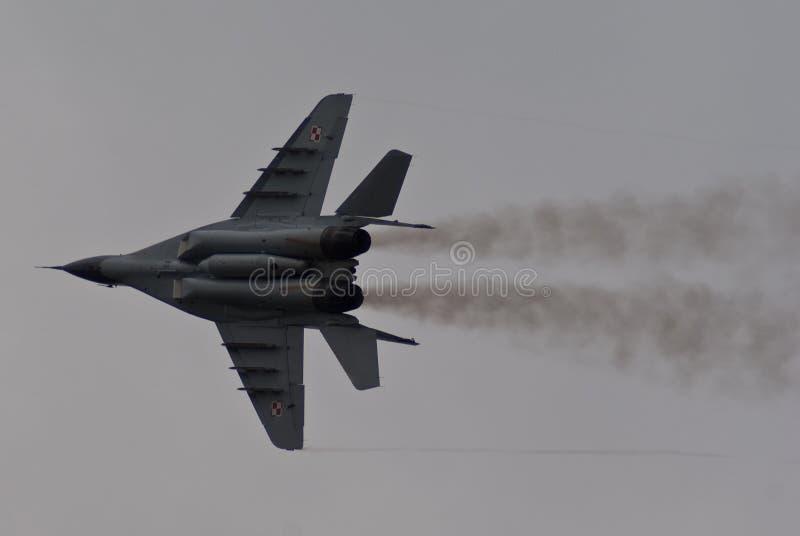 Polish MiG-29 royalty free stock images